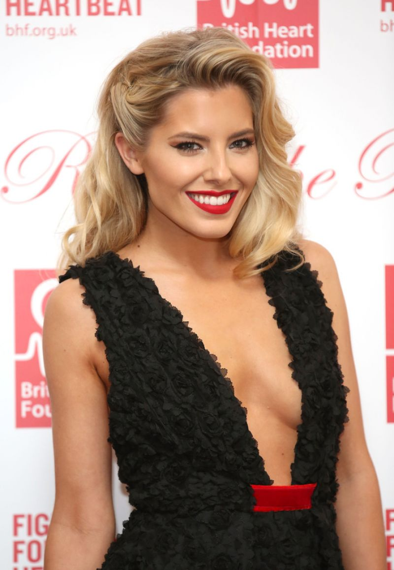 Mollie King At British Heart Foundation's Roll Out The Red ...