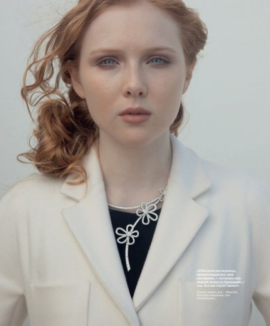 Molly Quinn Facebook Molly Quinn in Instyle Russia