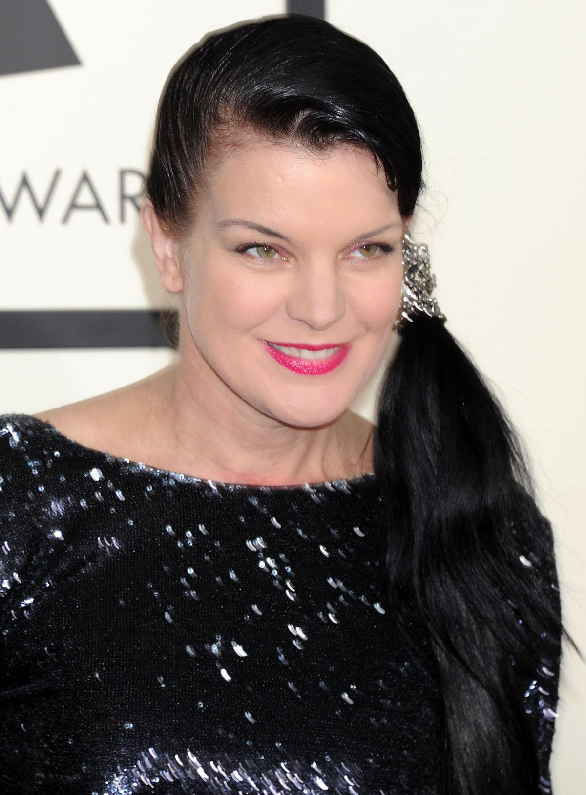 Pauley Perrette At The 57th Annual GRAMMY Awards - Celebzz ...