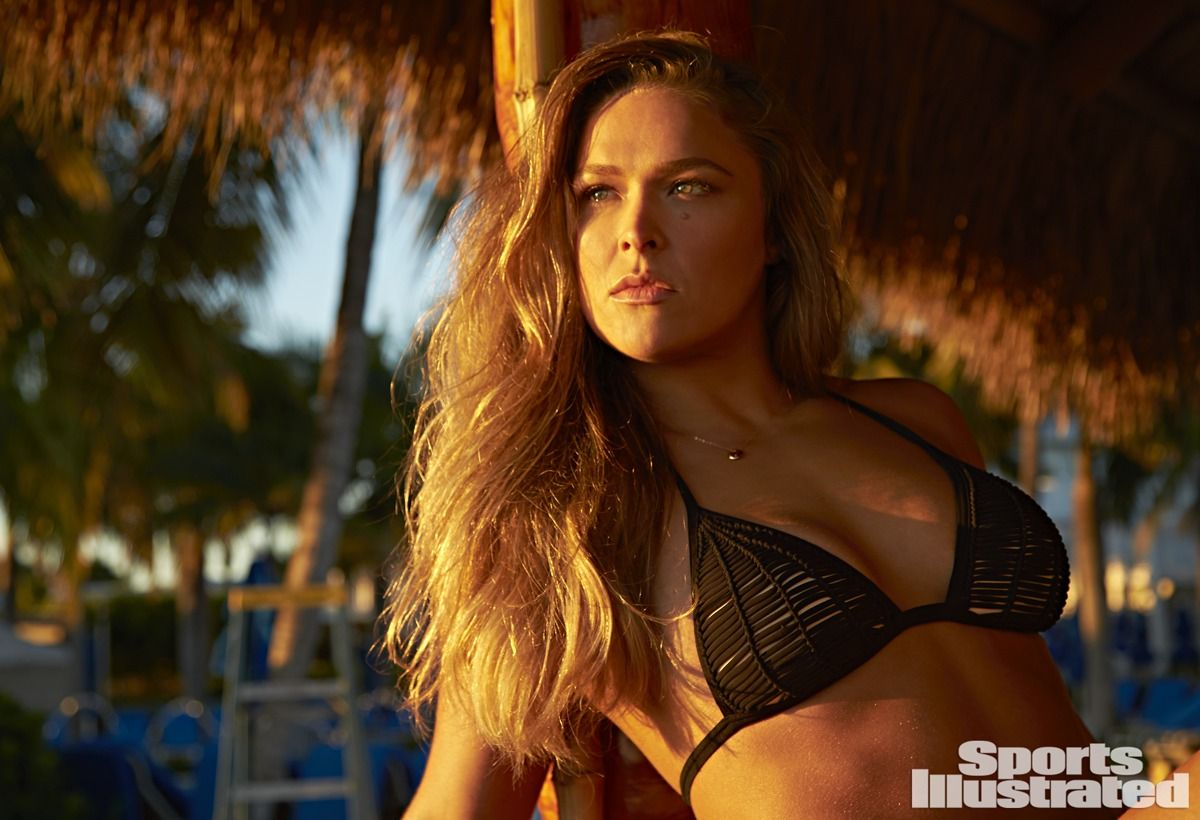 Has Ronda Rousey ever been nude? - Pictures