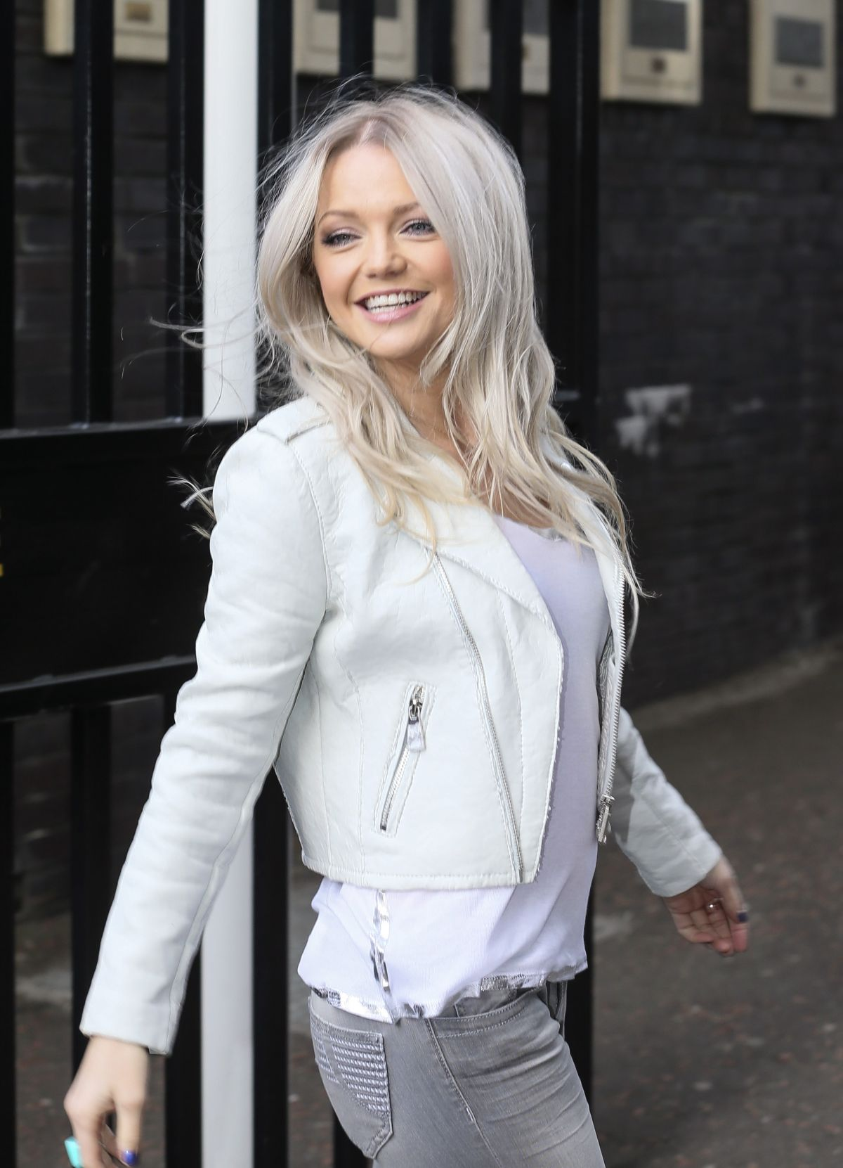 Hannah Spearritt At ITV Studios - Celebzz