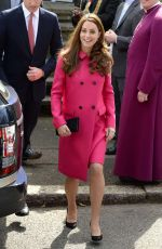 Kate Middleton At The Stephen Lawrence Centre