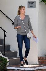 Kate Upton Leaving An Office Building