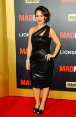 Lacey Chabert At AMC Mad Men Black & Red Ball