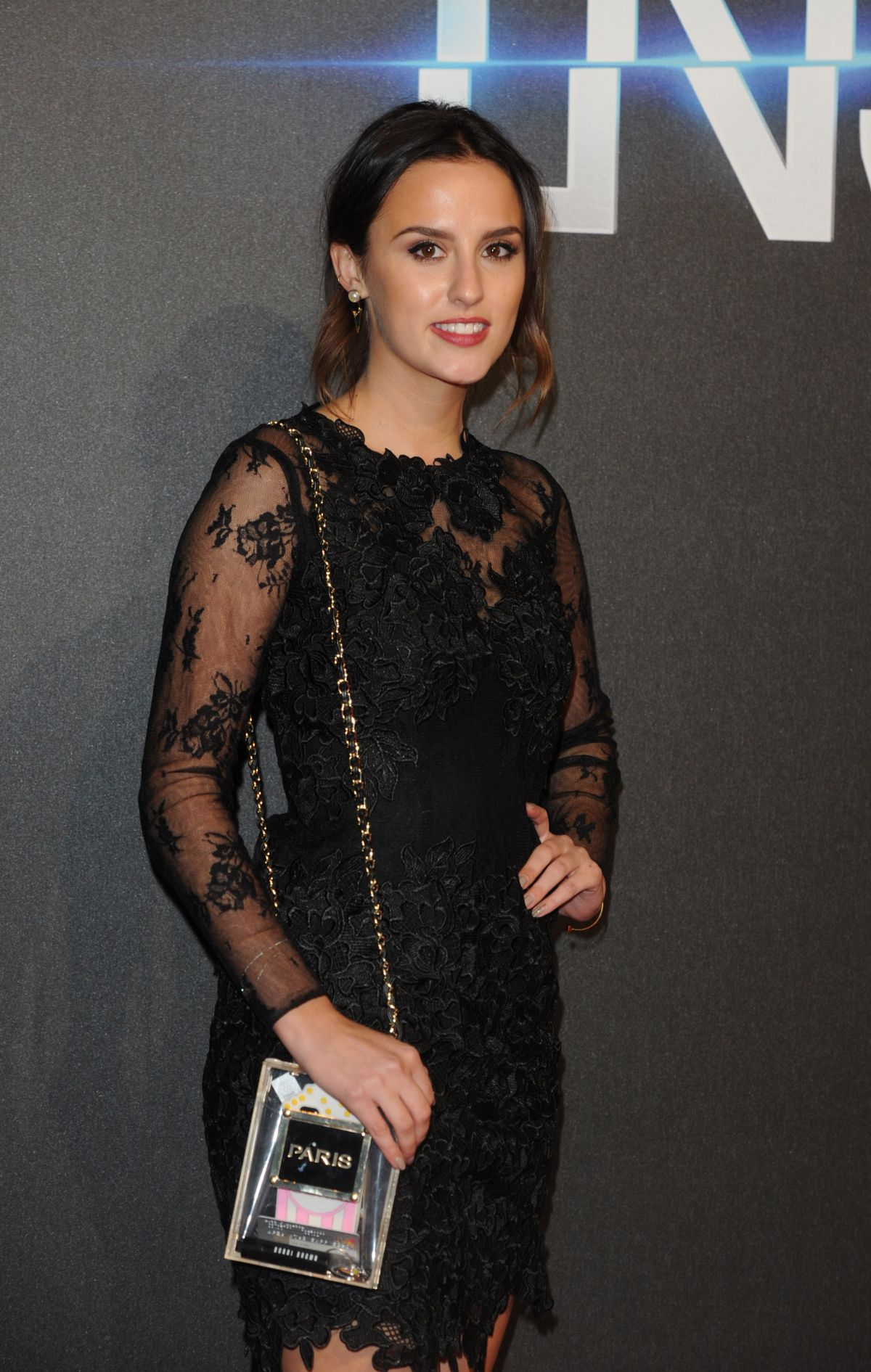 Lucy Watson At Premiere Of
