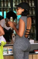 Angela Simmons Out Getting Juice In Beverly Hills