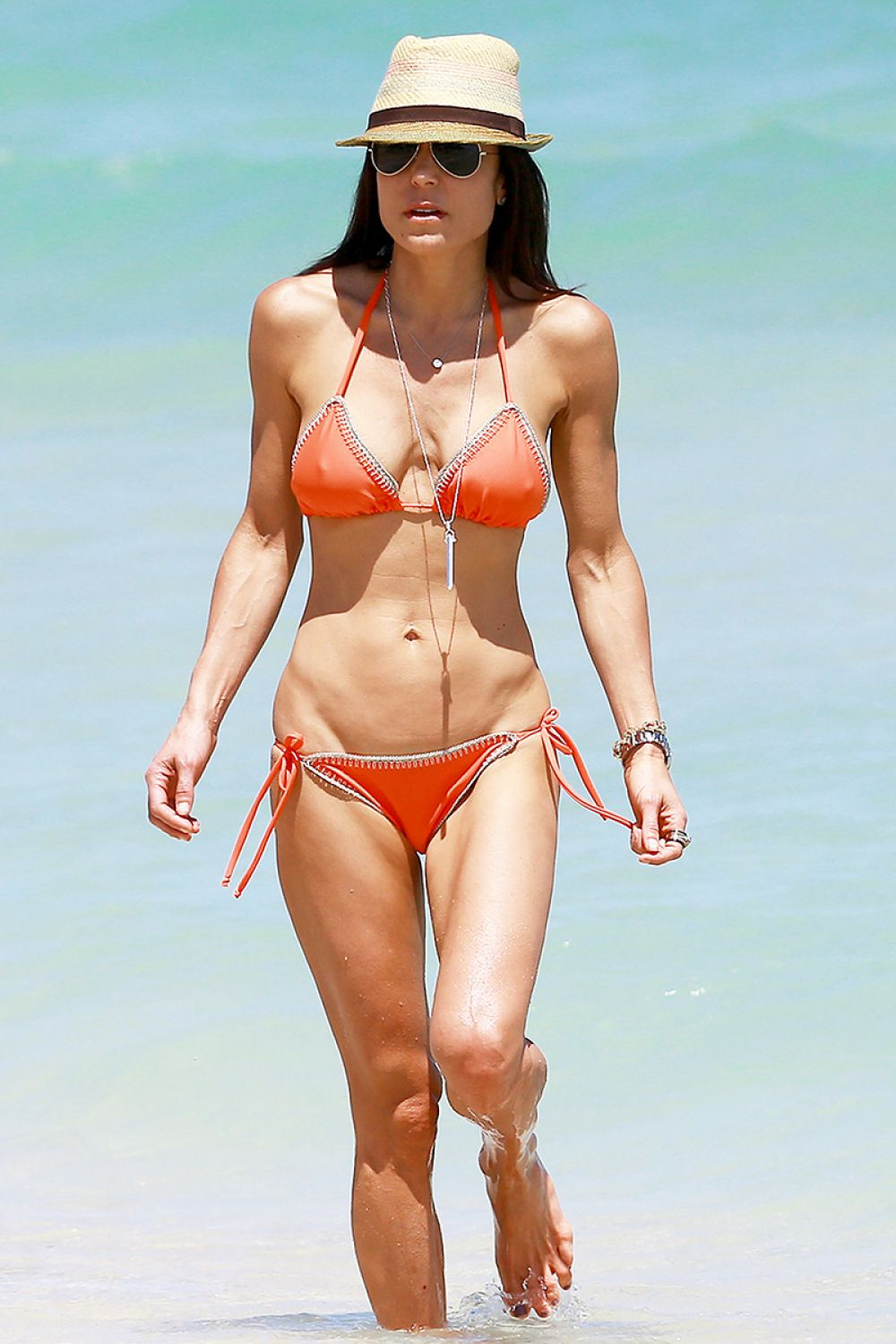 Bethenny Frankel In Red Bikini Bikini In Miami