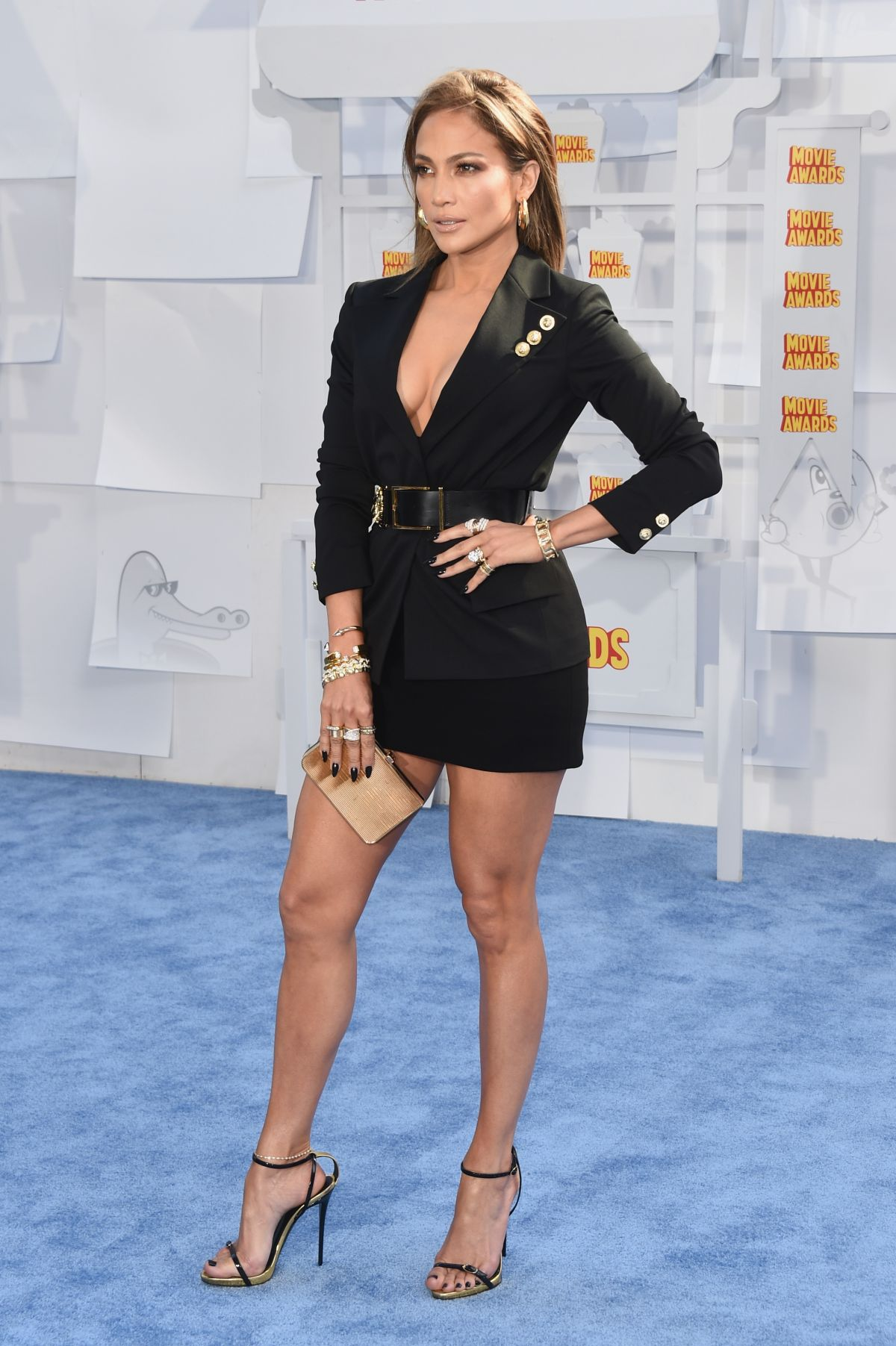 Jennifer Lopez At 2015 MTV Movie Awards - Celebzz