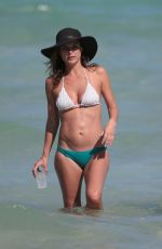 Josie Maran Wearing A Bikini In Miami