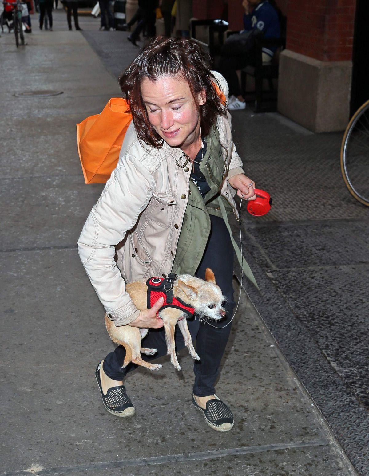 Juliette Lewis Leaving Her Hotel