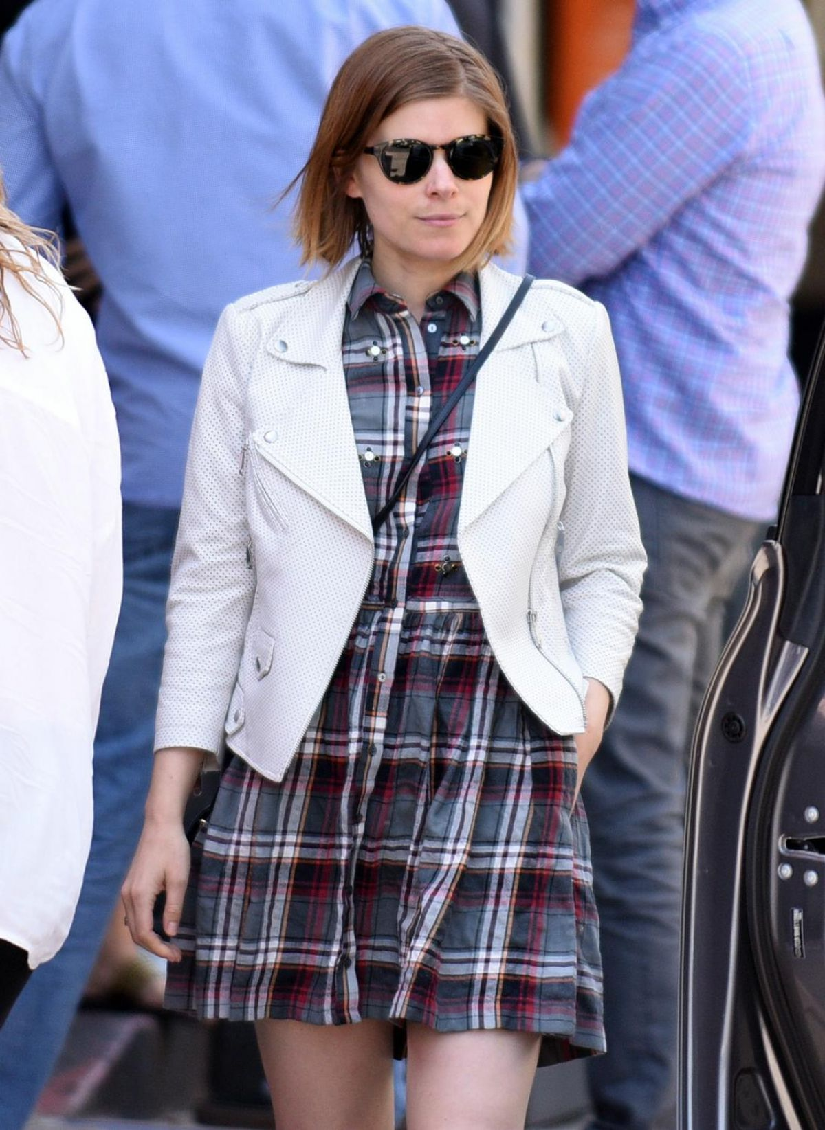Kate Mara Lunching With Her Cousin