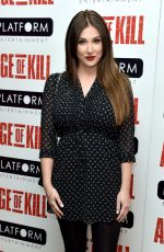 "Lucy Pinder At Screening Of ""Age Of Kill"""