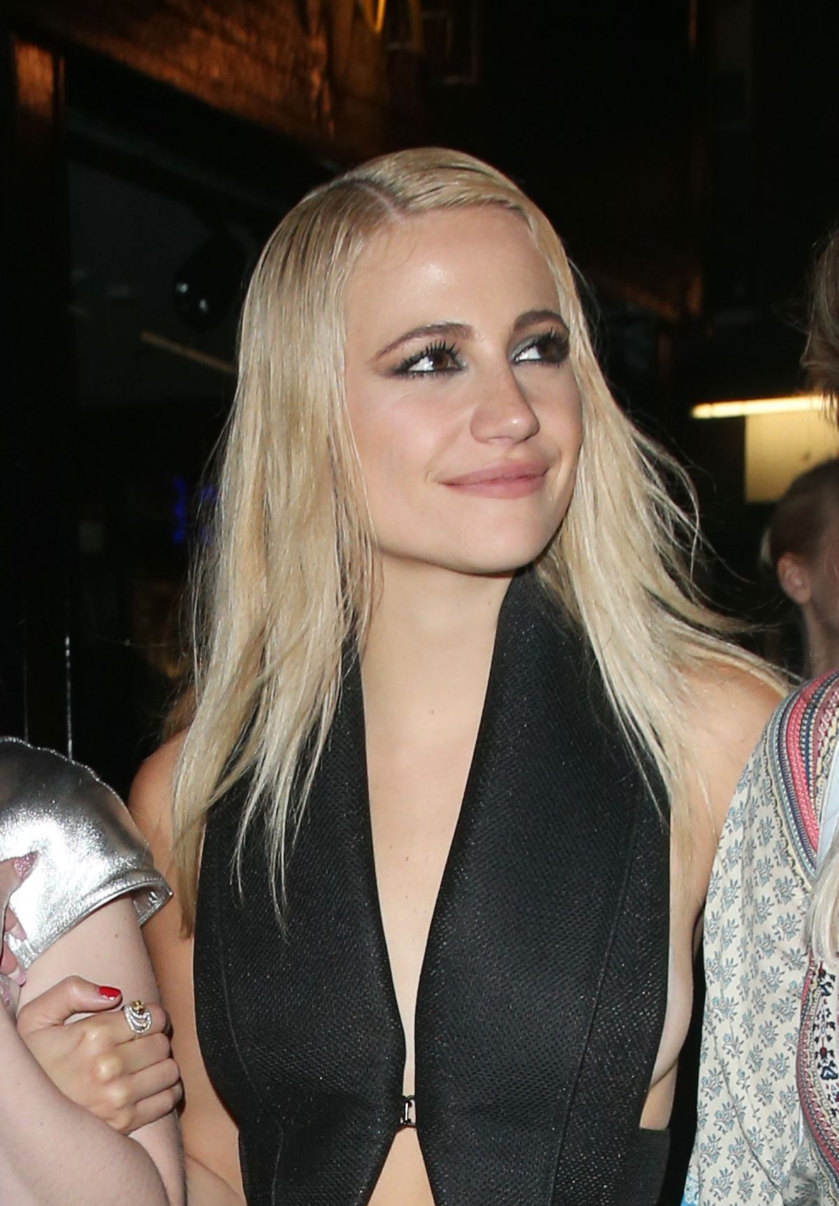 Pixie Lott & Alexis Knox Leave Cirque le Soir Night Club