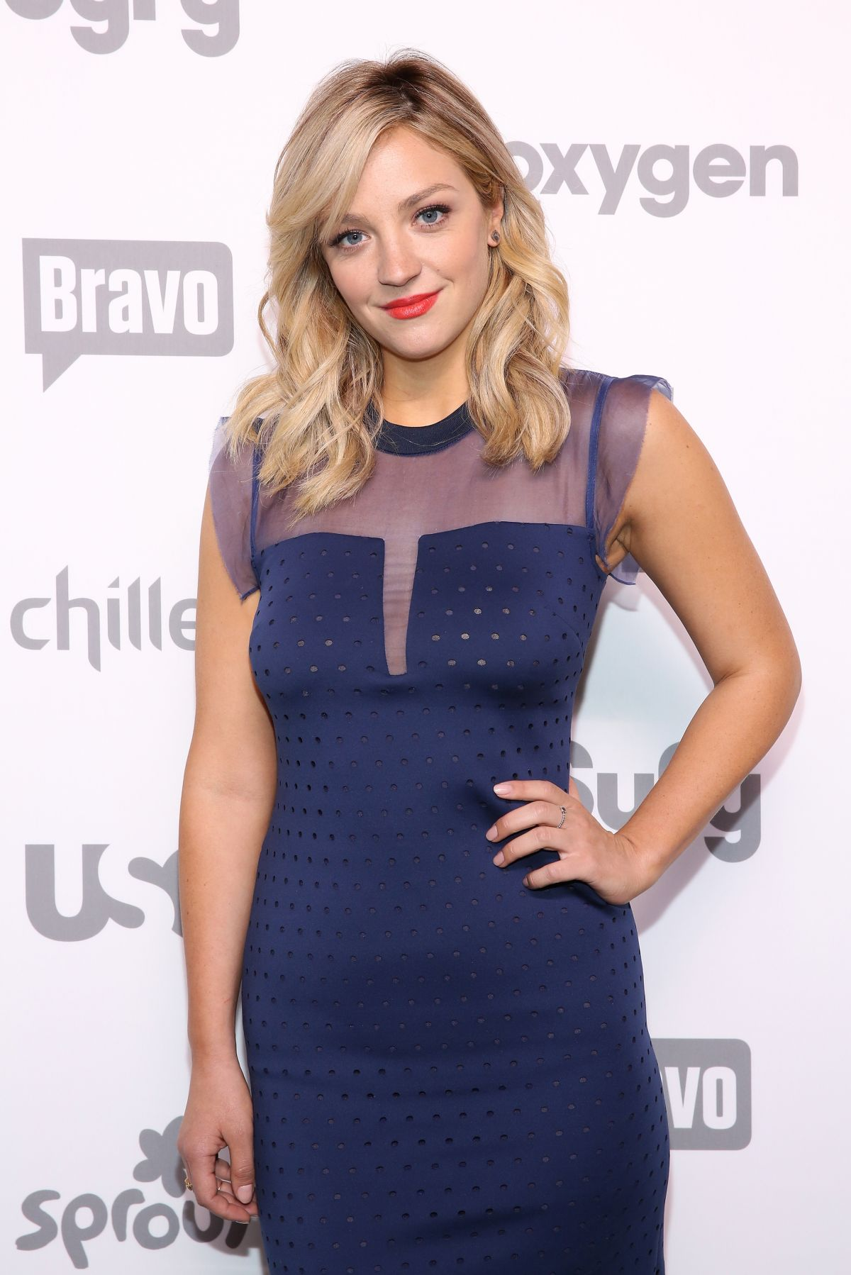 Abby Elliot At 2015 NBCUniversal Cable Entertainment Upfront