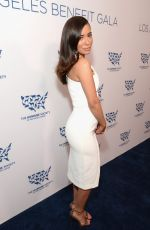 Christian Serratos At The Humane Society Los Angeles Benefit Gala