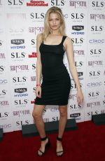 Hailey Clauson At Sports Illustrated Fight Weekend Party