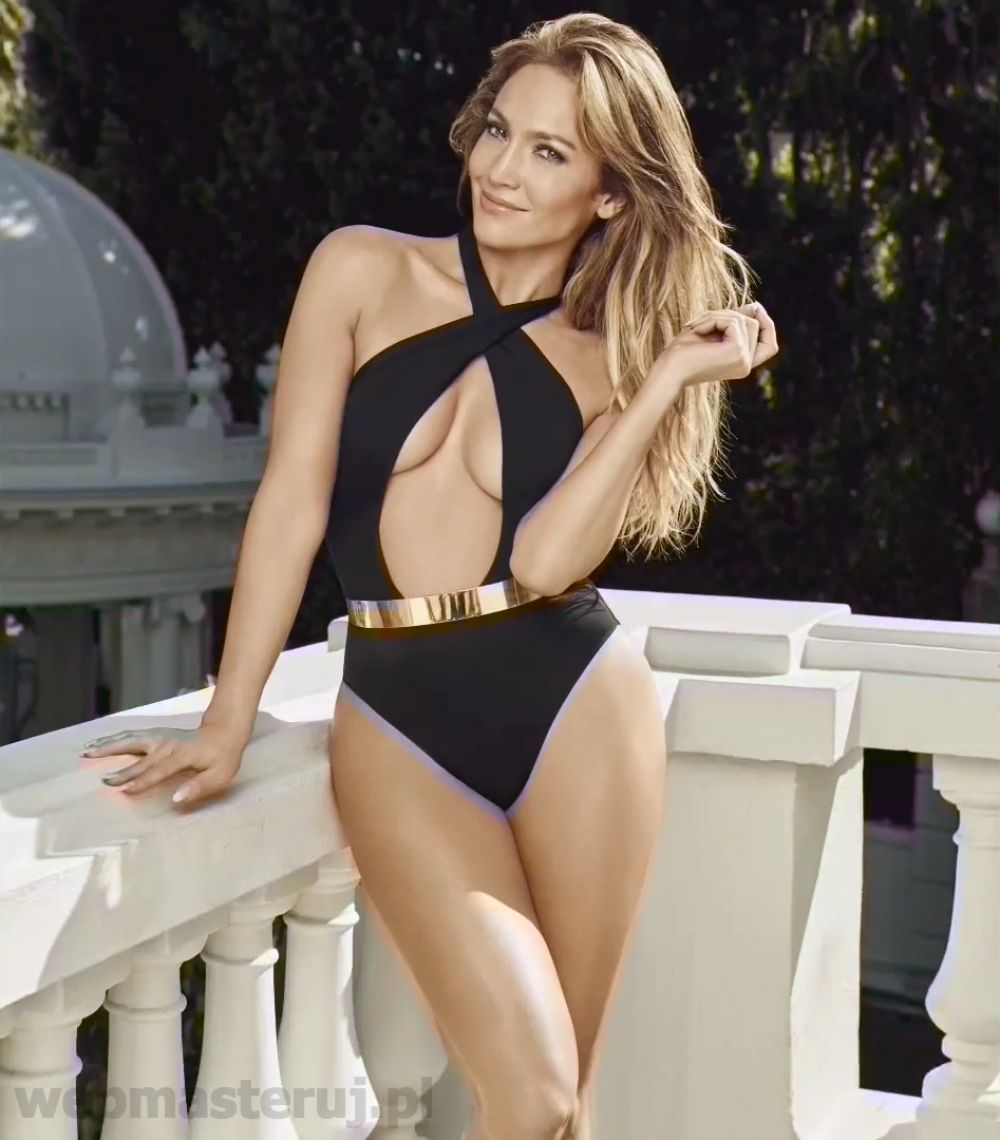 Jennifer Lopez with Bikini