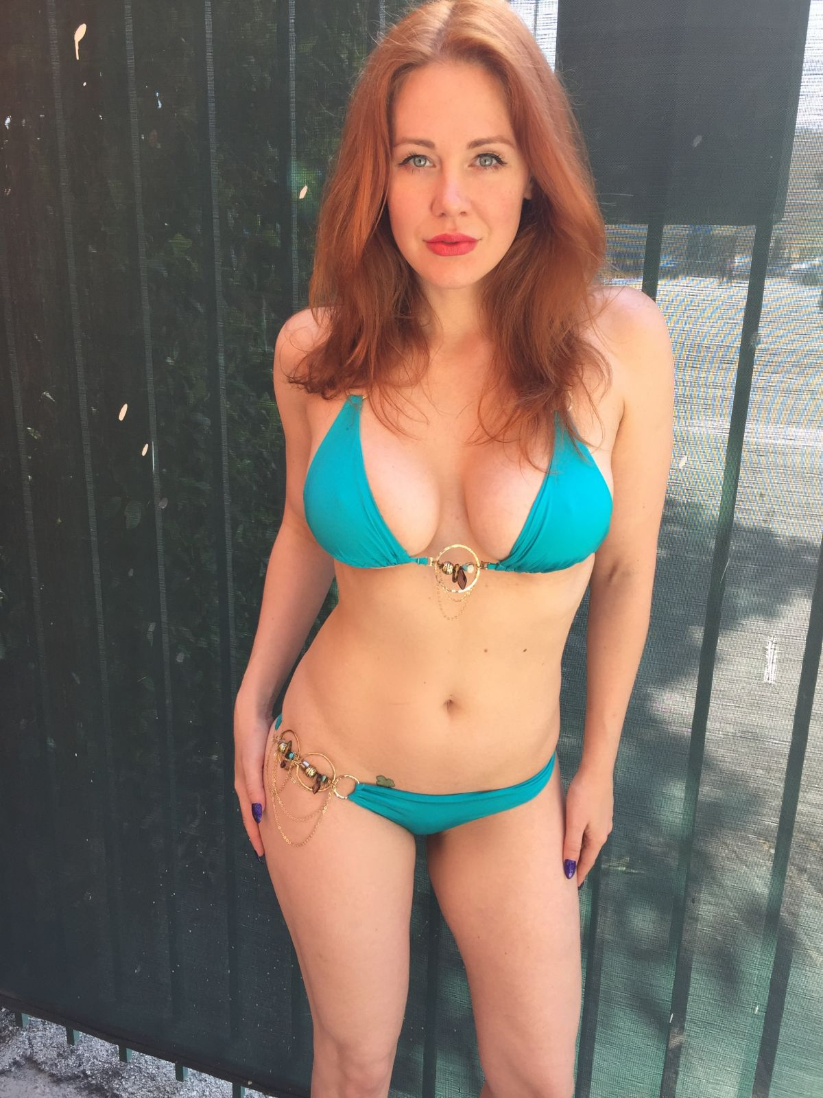 Maitland Ward Wearing A Bikini In Santa Monica Celebzz