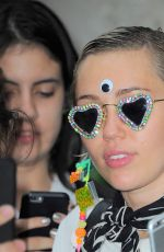 Miley Cyrus Leaving Her Hotel In New York City