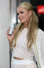 Paris Hilton Attends A Photocall At Superdrug