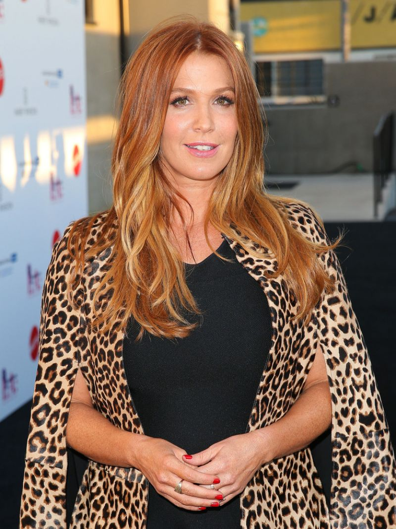 Poppy Montgomery At Mattel Children's Hospital UCLA Kaleidoscope Ball - Celebzz