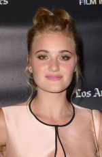 Amanda AJ Michalka At Weepah Way For Now Screening