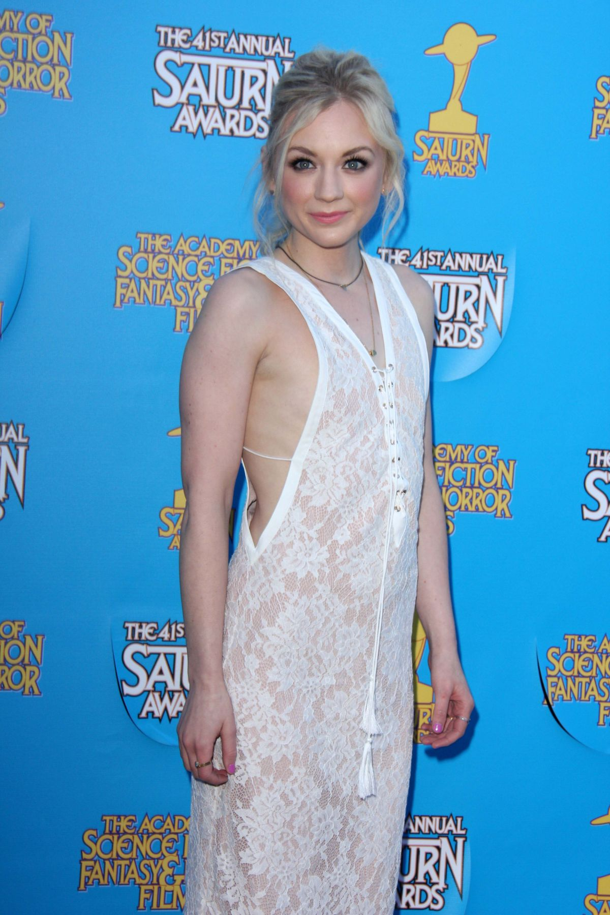 Emily Kinney At The 41st Annual Saturn Awards