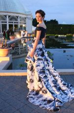 Emmy Rossum At The New York Botanical Garden Conservatory Ball