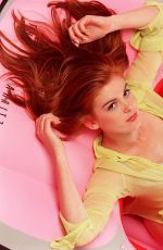 Isla Fisher At Stephen Perry Photoshoot