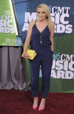 Jamie Lynn Spears At 2015 CMT Music Awards