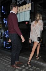 Kimberley Garner At Kings Road Restaurant