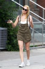 Margot Robbie In Shorts Out In Toronto