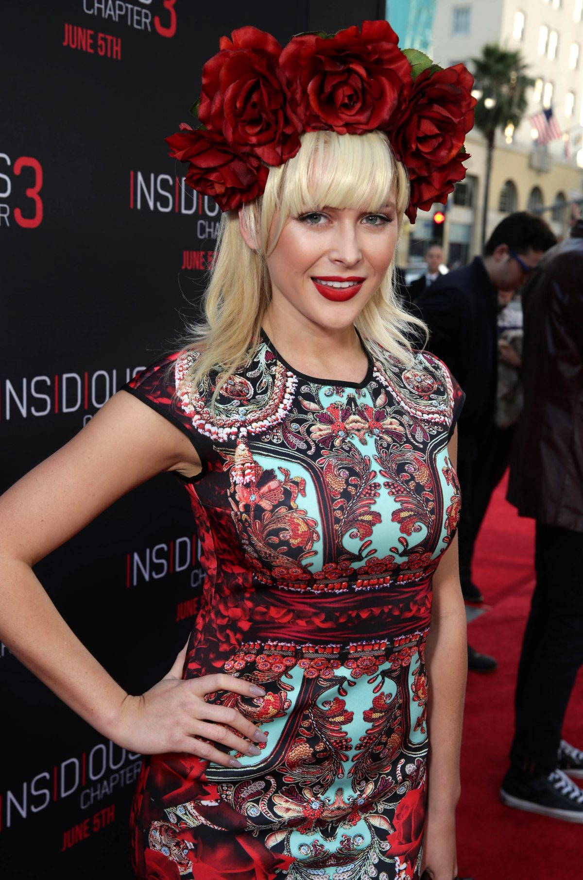Renee Olstead At Insidious Chapter 3 Premiere