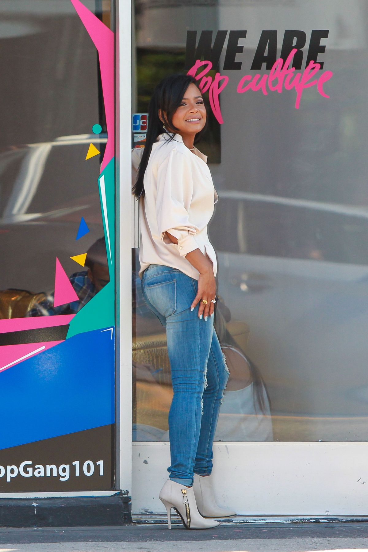 Christina Milian At Her We Are Pop Culture Pop Up Shop