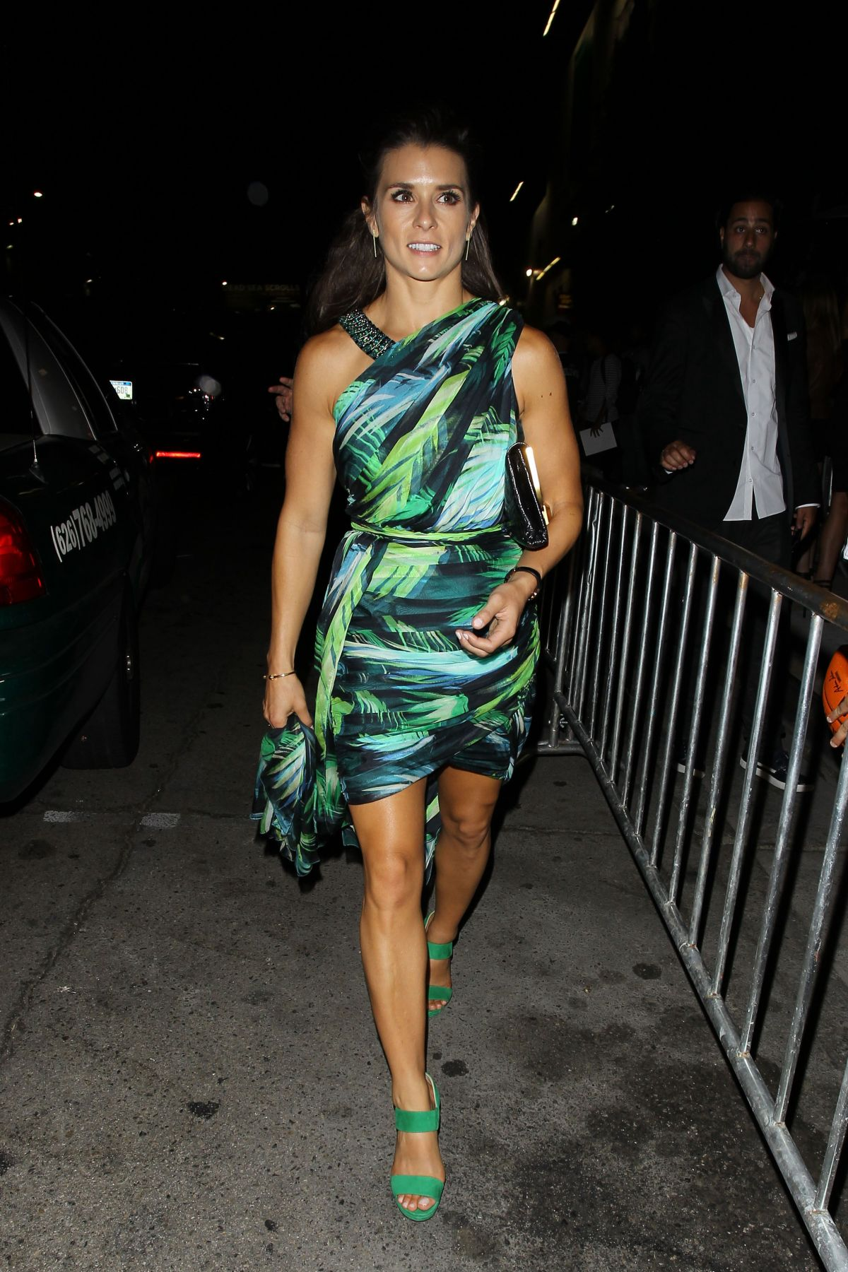 Danica Patrick Leaving An ESPYS Afterparty