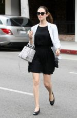 Emmy Rossum Out And About In Los Angeles