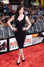 "Ireland Baldwin At ""Mission Impossible - Rogue Nation"" New York Premiere"