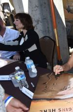 Mercedes Mason At Fear The Walking Dead Signing At Comic-Con