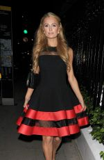 Paris & Nicky Hilton In A Night Out At Claridge
