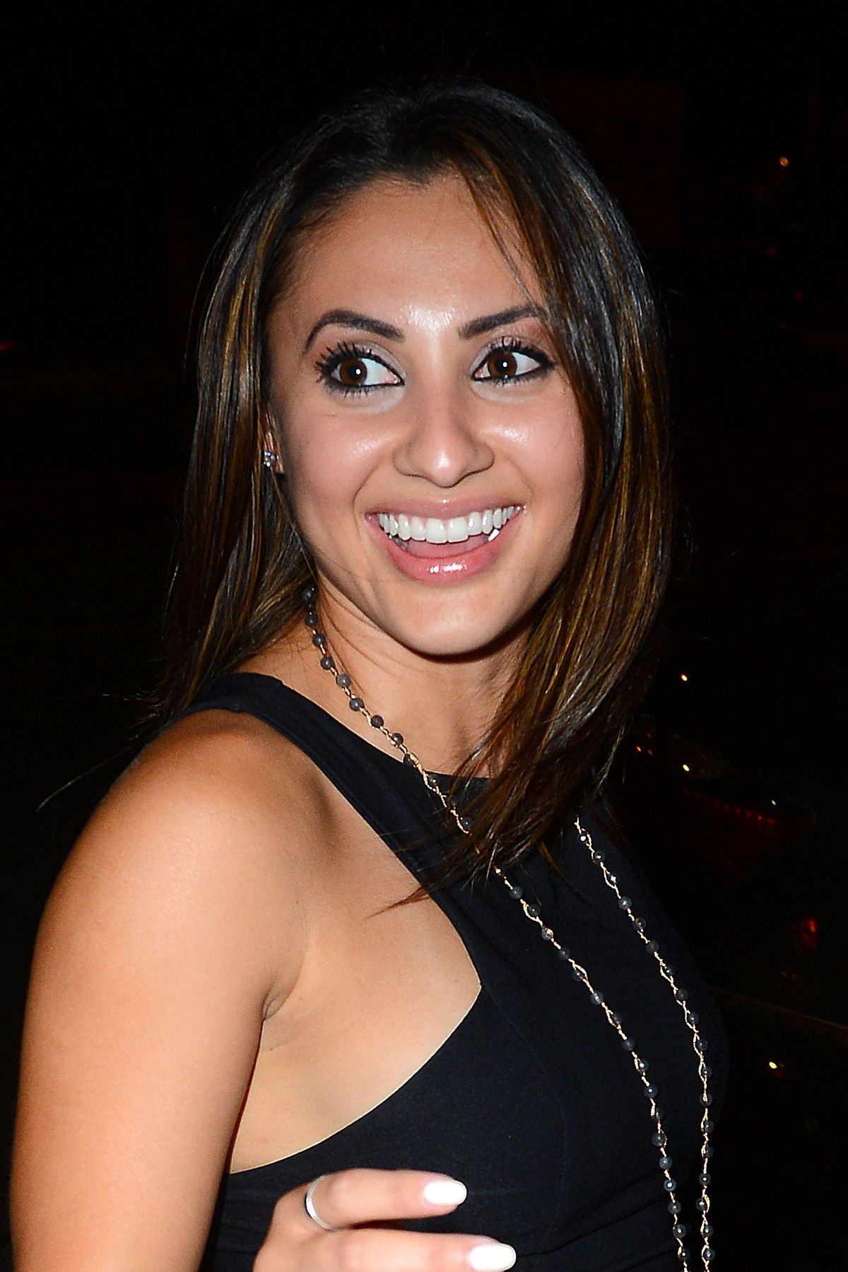 Francia Raisa At Just Jared Way To Wonderland Party ...