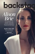 Alison Brie In Backstage Magazine September 2015