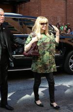 Courtney Love Arrives At The Kanye West Fashion Show