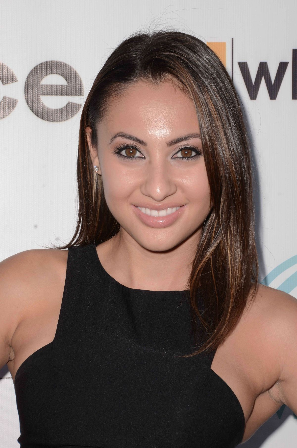 Francia Raisa At World's Largest Pizza Festival - Celebzz ...