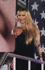 Jenna Jameson Entering The UK Big Brother House