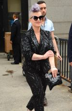 Kelly Osbourne At Project Runway NYFW Show