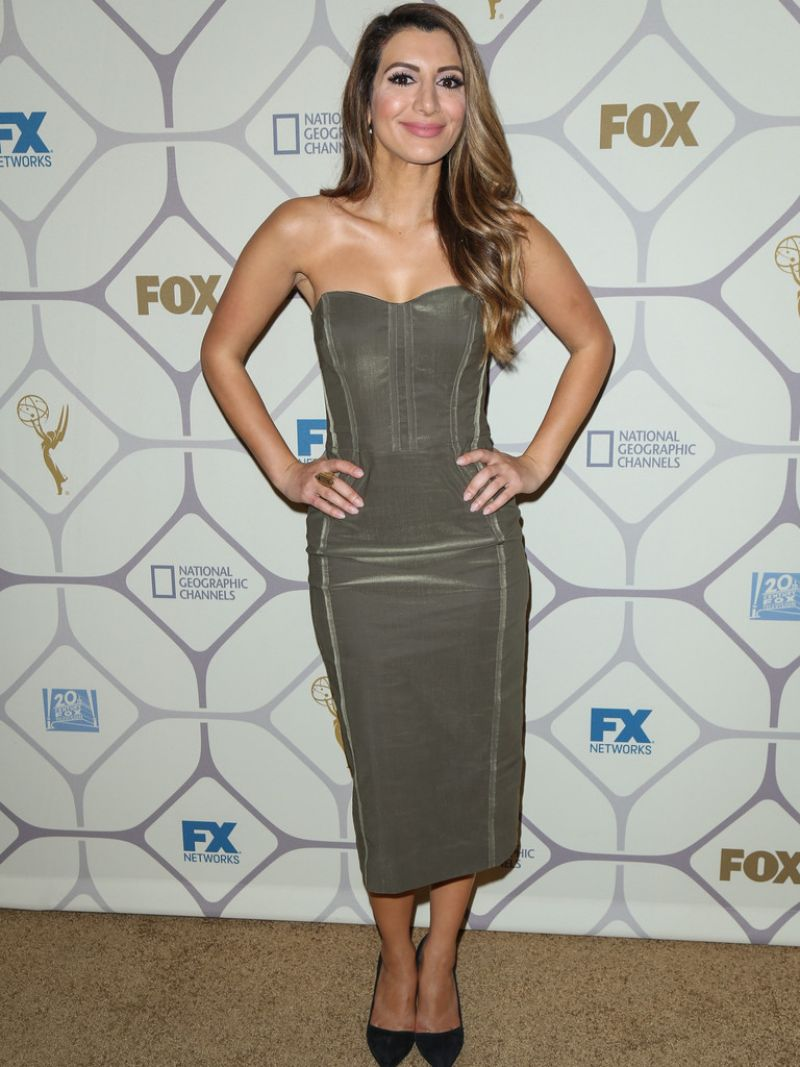 Nasim Pedrad At 67th Primetime Emmy Awards Fox After Party