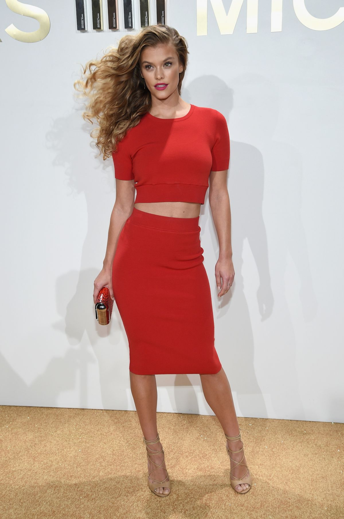 Nina Agdal At Michael ... Kim Kardashian New Fragrance