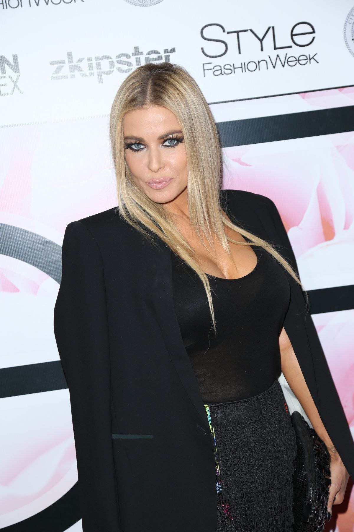 Carmen Electra At Marco Marco's Spring/Summer 2016 ...