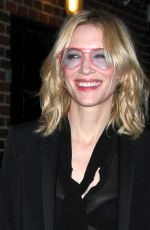 Cate Blanchett Visits The Late Show with Stephen Colbert