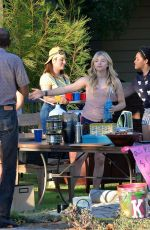 Chloe Grace Moretz On The Set Of